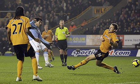 Punished: Wolves 0 Man City 3
