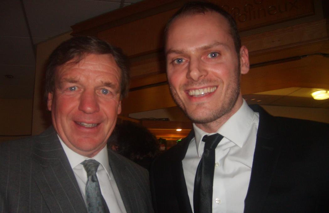 Former Wolves manager Graham Turner (and me)