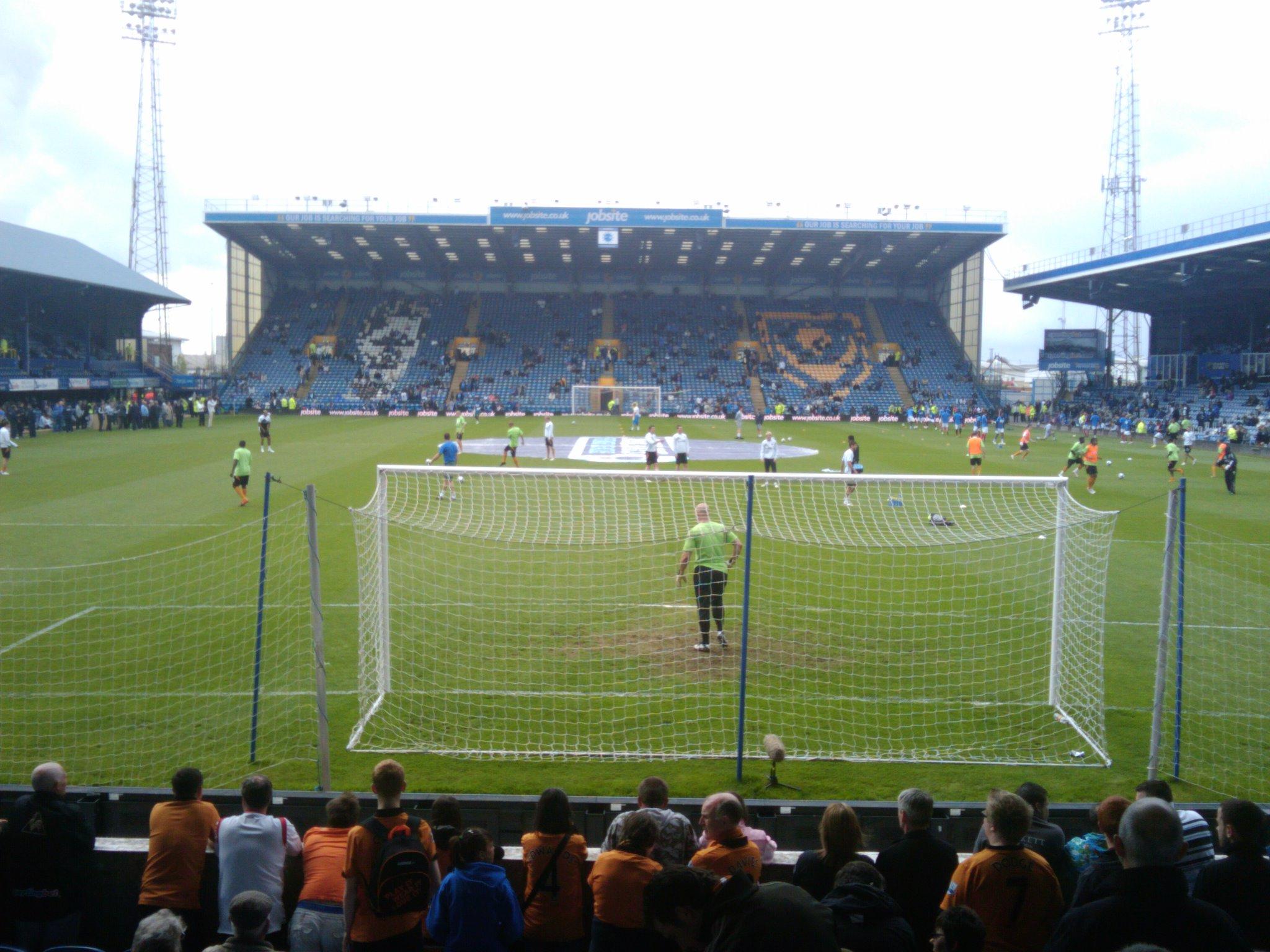 Slack: Portsmouth 3 Wolves 1