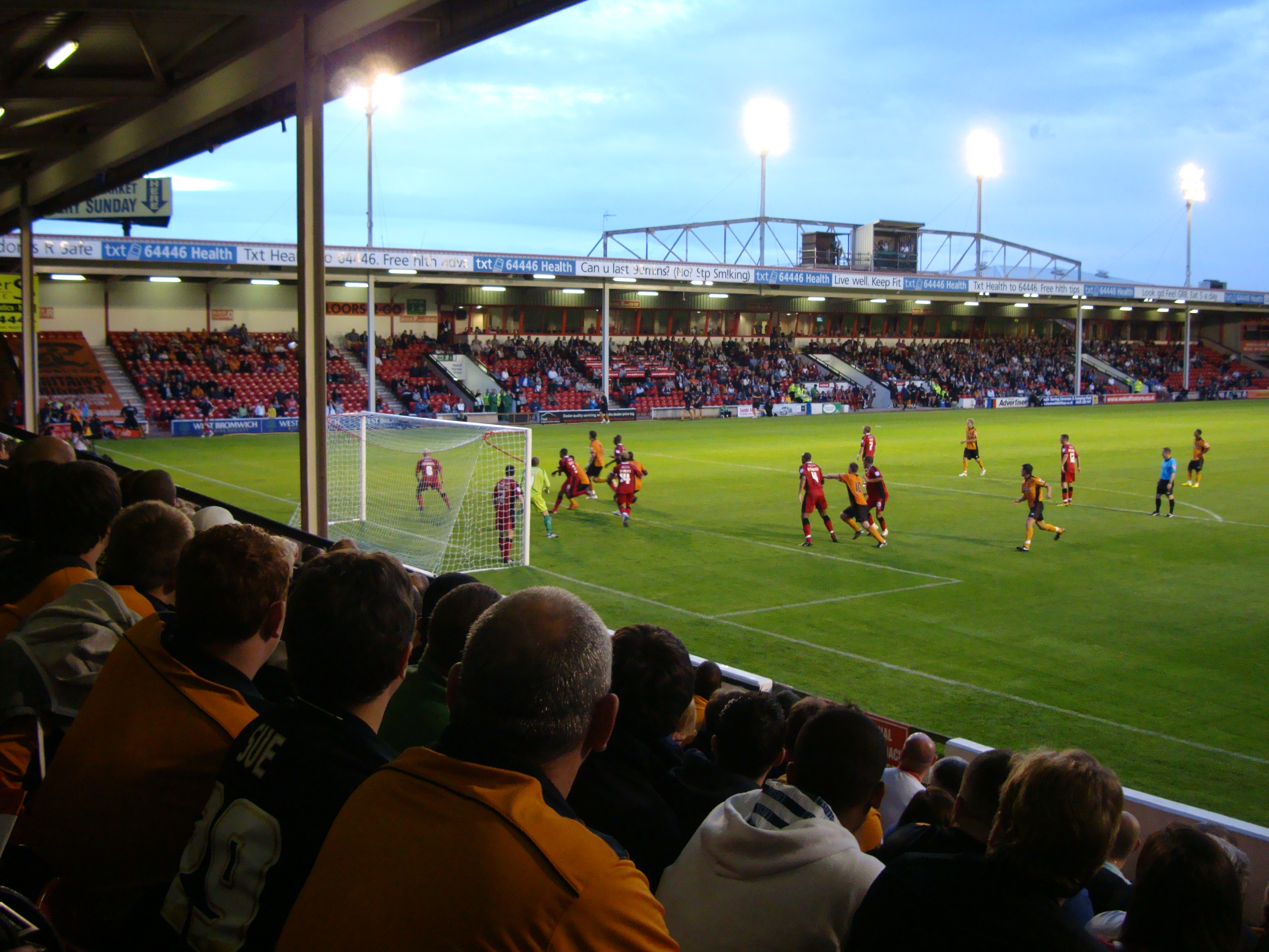 Walsall 0 Wolves 4