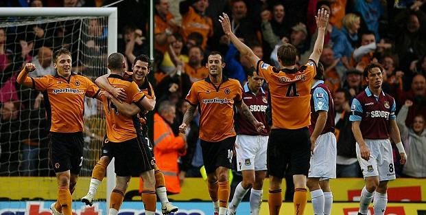 Wolves 1 West Ham 1