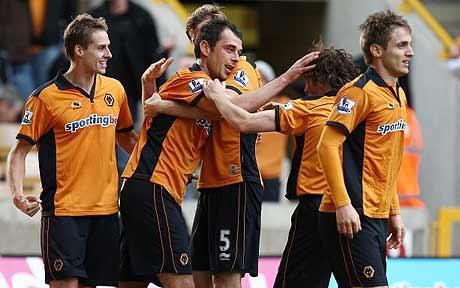Wolves 2 Man City 1