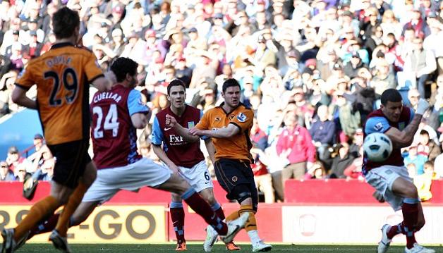 Aston Villa 0 Wolves 1