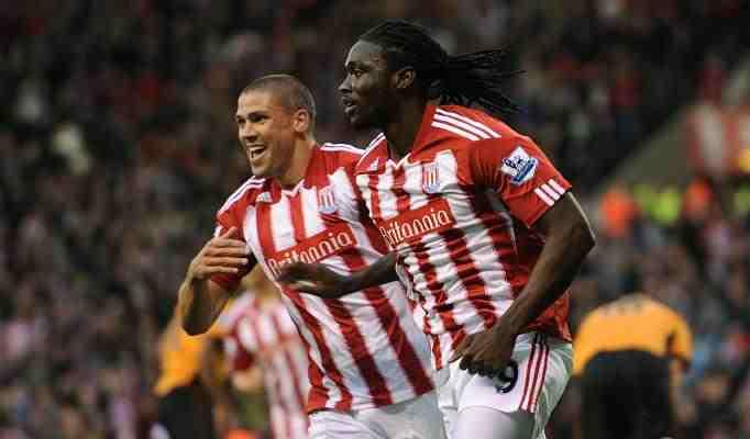 Stoke 3 Wolves 0