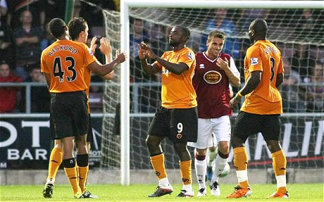 Northampton Town 0 Wolves 4