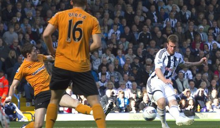 West Brom 2 Wolves 0