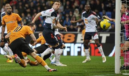 Bolton 1 Wolves 1