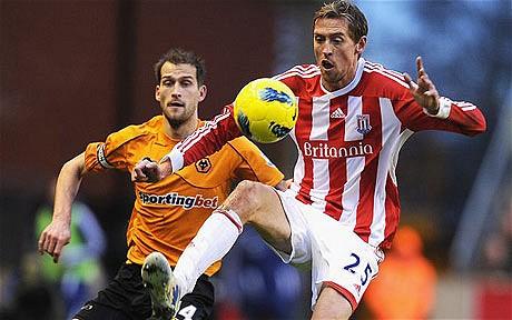 Wolves 1 Stoke City 2