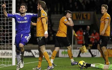 Wolves 1 Chelsea 2