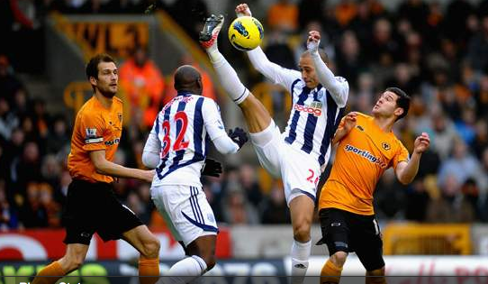 Wolves 1 West Brom 5