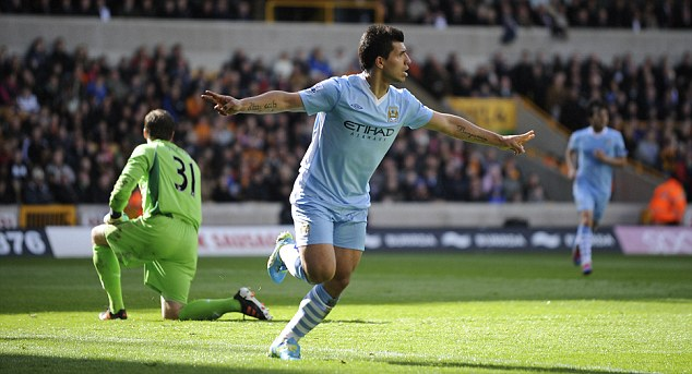 Wolves 0 Man City 2