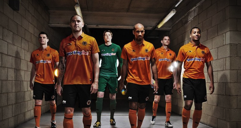 New Wolves Home Shirt