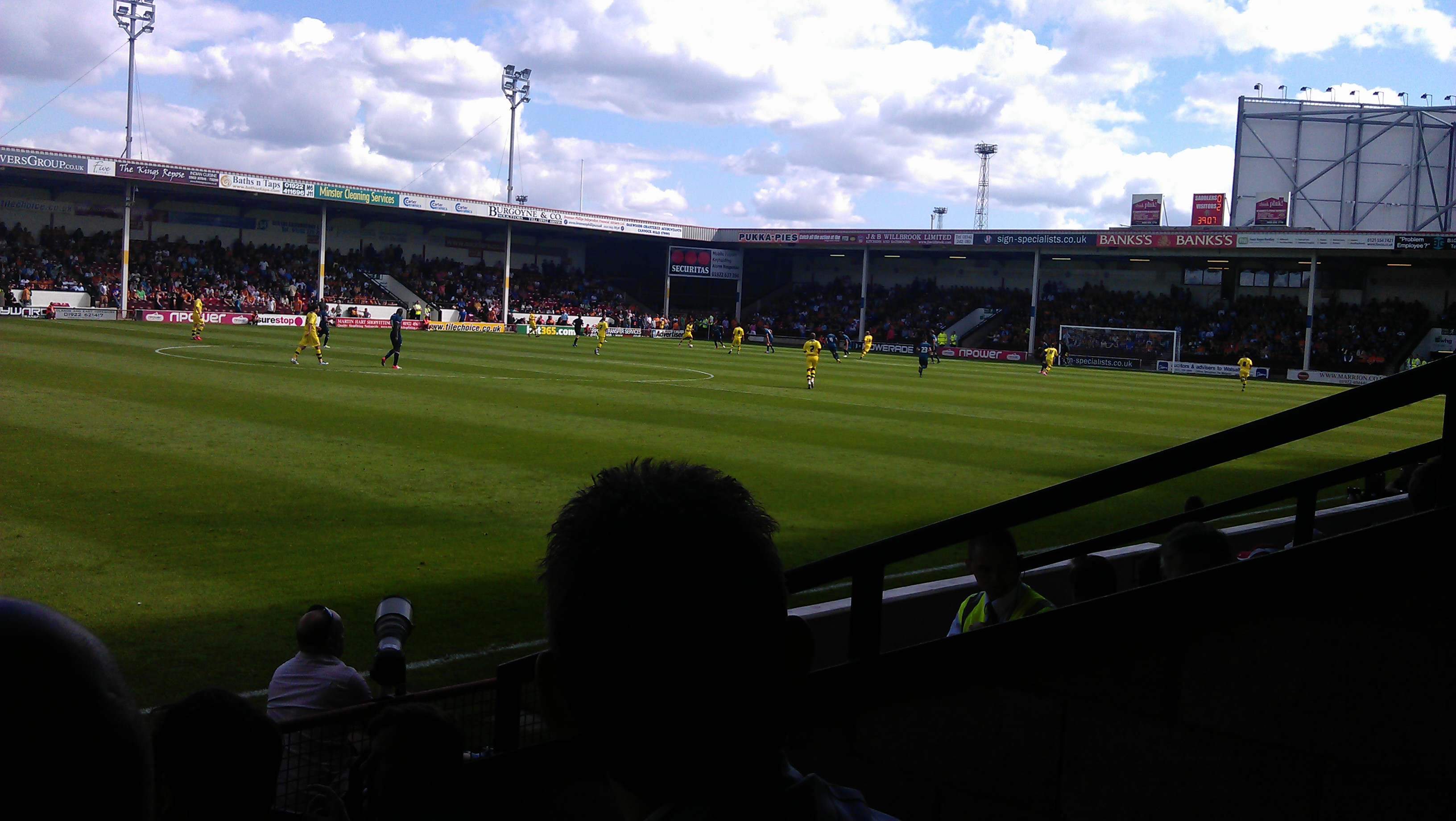 Walsall 0 Wolves 3