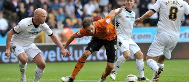 Wolves 1 Derby County 1