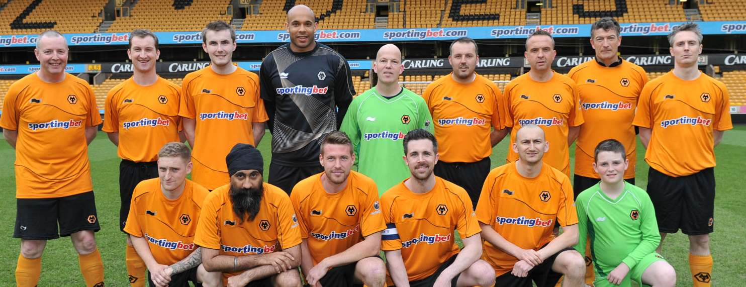 Play at Molineux with Football Aid