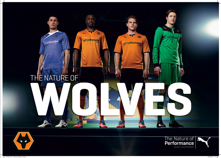 Win the new Puma Wolves shirt