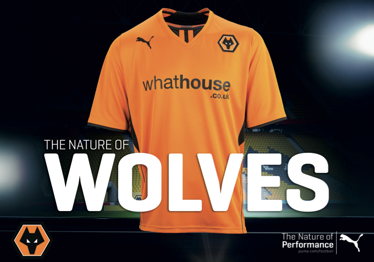 Wolves home shirt 13:14