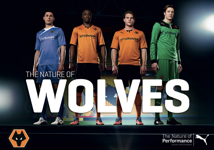 Wolves new kit