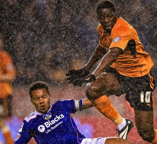Wolves 2 Oldham Athletic 0