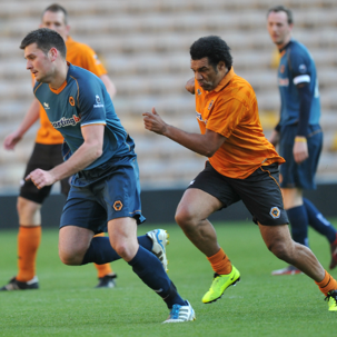Play at Molineux with Football Aid 2014