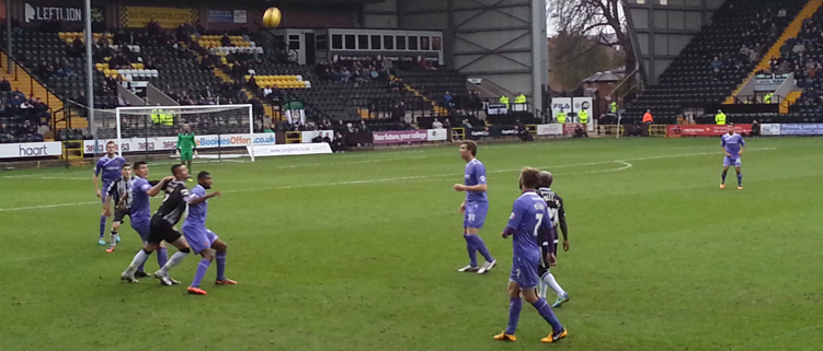 Notts County away