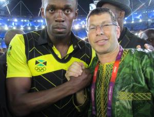 Usain Bolt Ash