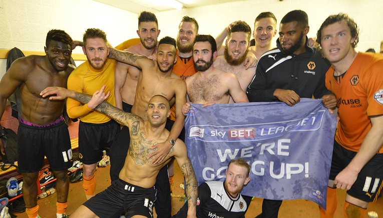 Wolves team promoted