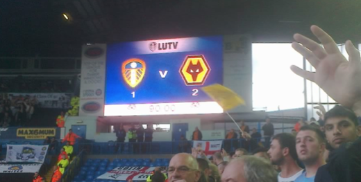 Leeds 1 Wolves 2