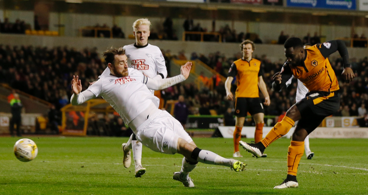 Wolves 2 Derby County 0