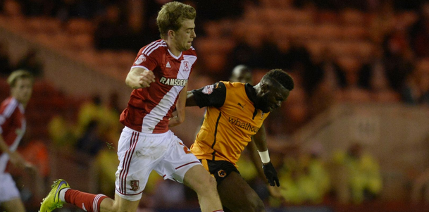 Middlesbrough 2 Wolves 1