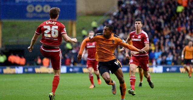 Wolves 1 Middlesbrough 3