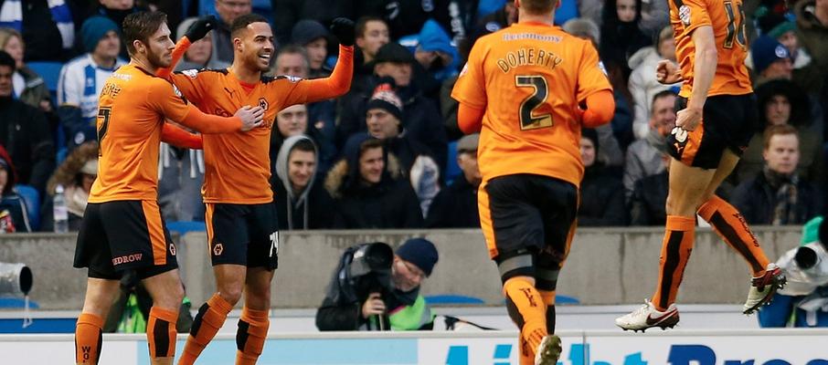 Brighton Wolves celebrate