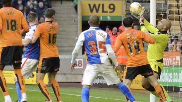 Wolves 0 Blackburn Rovers 0