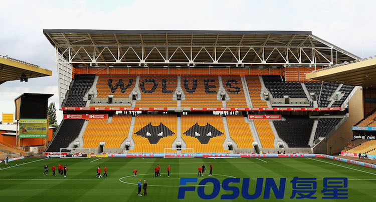 WOLVERHAMPTON, ENGLAND - AUGUST 21: A general view of Molineux Stadium during the npower Championship match between Wolverhampton Wanderers and Barnsley at Molineux on August 21, 2012 in Wolverhampton, England. (Photo by Matthew Lewis/Getty Images)