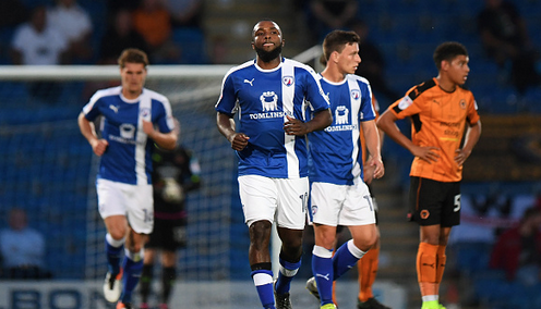 Chesterfield 2 Wolves U23s 1