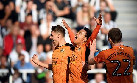 Newcastle United 0 Wolves 2