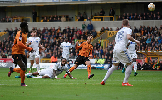 Wolves 0 Leeds United 1