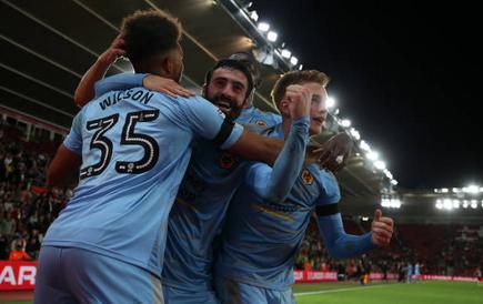 Southampton 0 Wolves 2