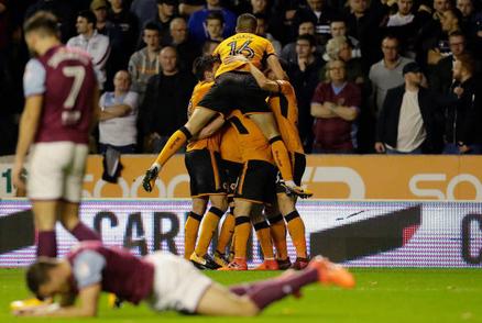 Wolves 2 Aston Villa 0