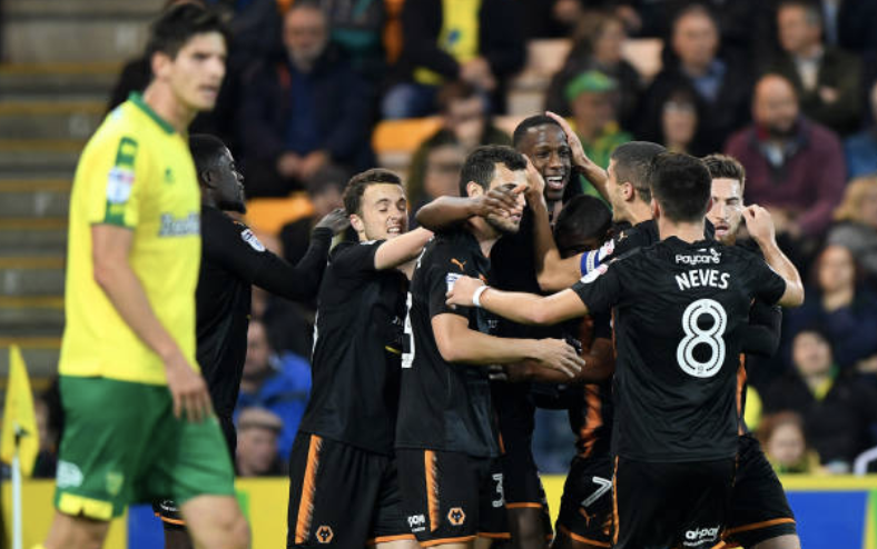 Norwich City 0 Wolves 2