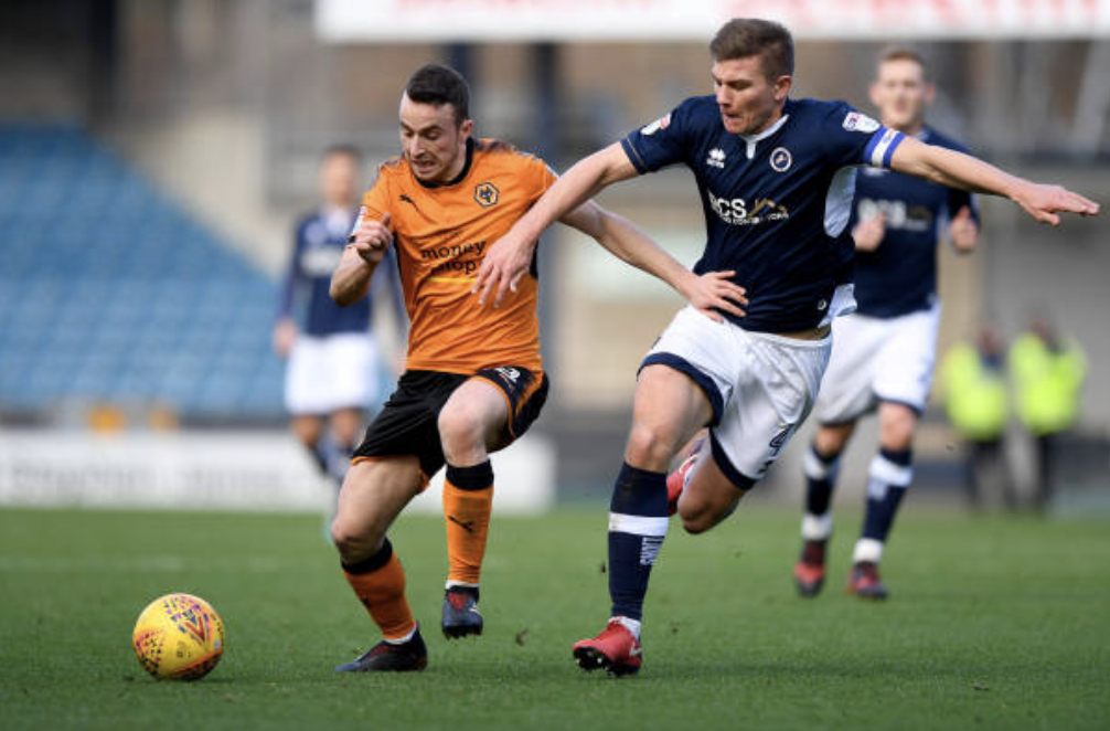 Millwall 2 Wolves 2