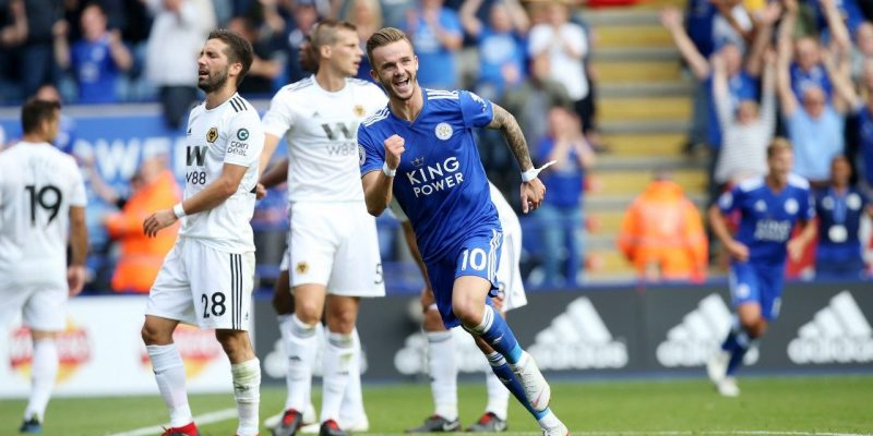 Leicester City 2 Wolves 0