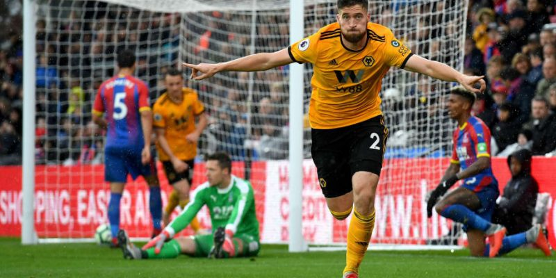 Crystal Palace 0 Wolves 1