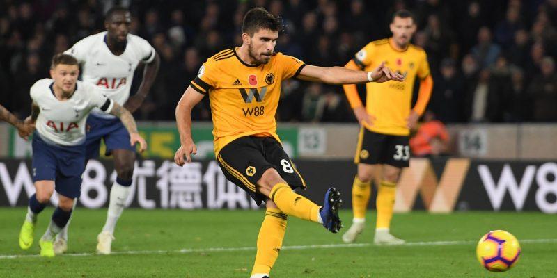 Wolves 2 Tottenham 3